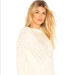 Revolve Majorelle Cable Knit Sweater